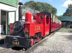Lappa Valley Train Cornwall
